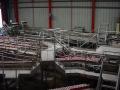 Passerelles inox / secteur alimentaire (préfabrication en atelier / montage sur site)
