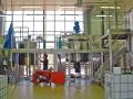 Mise en place équipements process et charpentes inox