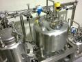 """Skid process inox / secteur pharmaceutique : Poli-miroir intérieur Ra<0,2 / soudures manuels et orbitales / endoscopie et radiographie / """"zéro rétention"""""""