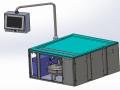 Maquette numérique machine spéciale de process / secteur médical