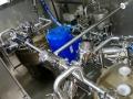 Tuyauteries inox d'une machine spéciale de process / secteur médical